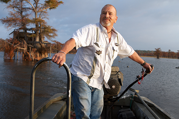 CADDO EXPERT BILLY CARTER AT THE HELM